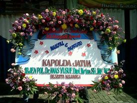 Karangan Bunga Happy Wedding Malang 1